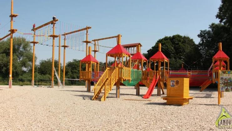 Lanový park anglický příměstský tábor Pardubice