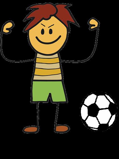 dítě s míčem anglický příměstský tábor Pardubice